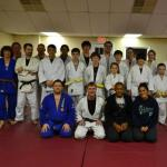 Dentinho training and teaching at Brandenburg Judo club.  www.brandenburgjudo.com